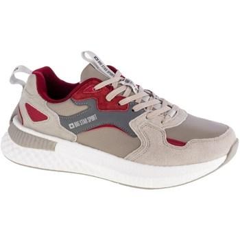Sapatos Homem Sapatilhas Big Star GG174463 Cinzento, Cor bege