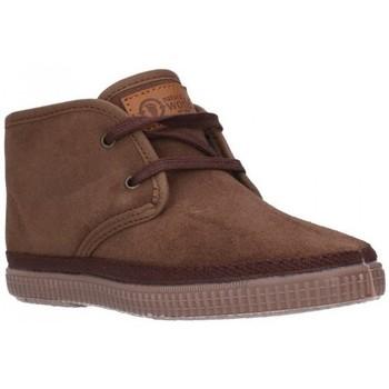 Sapatos Rapaz Botas Natural World 521  (830) Niño Marron marron