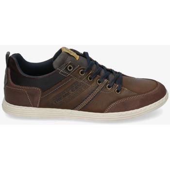 Sapatos Homem Sapatilhas Bullboxer 499-K2-4985A Castanho