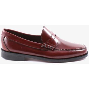 Sapatos Homem Mocassins Kennebec S21 Vermelho