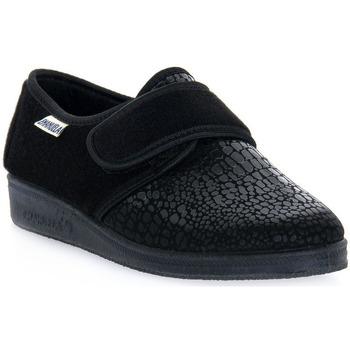 Sapatos Homem Chinelos Emanuela 608 NERO PANTOFOLA Nero