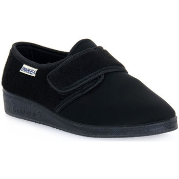 Sapatos Homem Chinelos Emanuela 601 NERO PANTOFOLA Nero