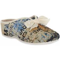 Sapatos Mulher Chinelos Emanuela 2900 GOBE 320 Grigio