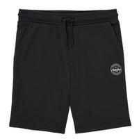 Textil Rapaz Shorts / Bermudas Jack & Jones JJI SHARK JJSWEAT Preto