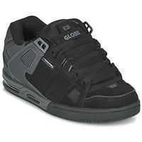 Sapatos Homem Sapatos estilo skate Globe SABRE Preto / Cinza