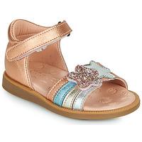 Sapatos Rapariga Sandálias Acebo's 1228-RAME Bronze