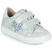 Sapatos Rapariga Sapatilhas Acebo's 5471-PLATA-B Prata