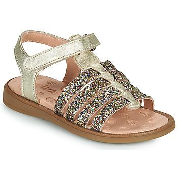 Sapatos Rapariga Sandálias Acebo's 5498GE-PLATINO-J Ouro