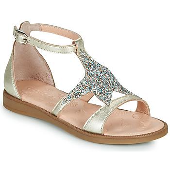 Sapatos Rapariga Sandálias Acebo's 9895GE-PLATINO-J Ouro