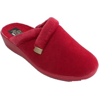 Sapatos Mulher Chinelos Nevada Tênis feminino de costas abertas rojo