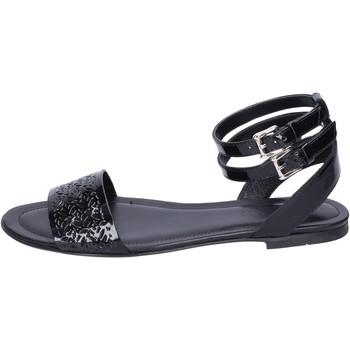 Sapatos Mulher Sandálias Hogan BK657 Preto