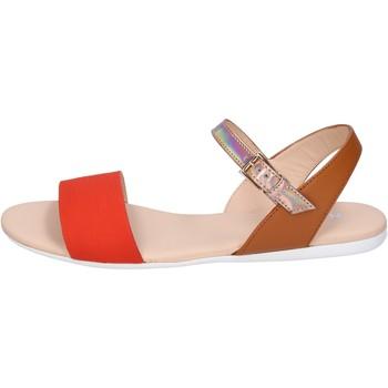 Sapatos Mulher Sandálias Hogan BK659 laranja