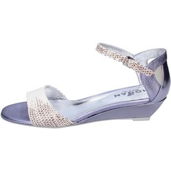 Sapatos Mulher Sandálias Hogan BK662 Branco