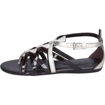 Sapatos Mulher Sandálias Hogan BK663 Castanho