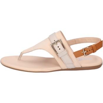 Sapatos Mulher Sandálias Hogan BK664 Bege