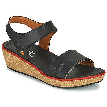 Sapatos Mulher Sandálias Art CAPRI Preto