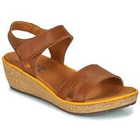 Sapatos Mulher Sandálias Art CAPRI Castanho