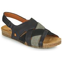 Sapatos Mulher Sandálias Art CRETA Preto