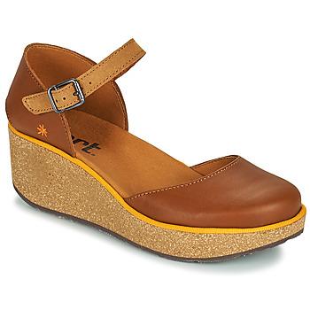 Sapatos Mulher Chinelos Art PARMA Castanho