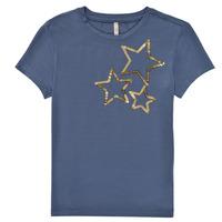 Textil Rapariga T-Shirt mangas curtas Only KONMOULINS STAR Azul