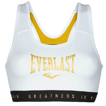 Textil Mulher Tops e soutiens de desporto Everlast EVL BRAND BR Branco / Dourado