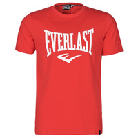 Textil Homem T-Shirt mangas curtas Everlast EVL- BASIC TEE-RUSSEL Vermelho