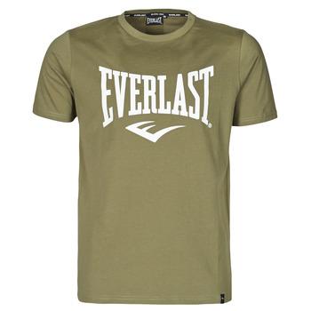 Textil Homem T-Shirt mangas curtas Everlast EVL- BASIC TEE-RUSSEL Cáqui