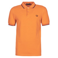 Textil Homem Polos mangas curta Fred Perry TWIN TIPPED FRED PERRY SHIRT Camel