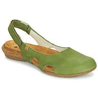 Sapatos Mulher Sandálias El Naturalista WAKATAUA Verde