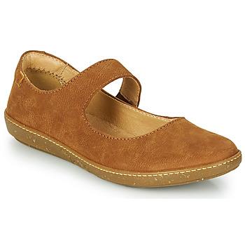 Sapatos Mulher Sabrinas El Naturalista CORAL Castanho