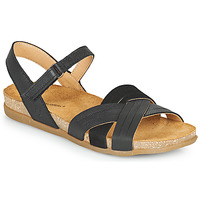 Sapatos Mulher Sandálias El Naturalista ZUMAIA Preto