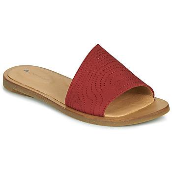 Sapatos Mulher Chinelos El Naturalista TULIP Vermelho