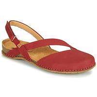 Sapatos Mulher Sandálias El Naturalista PANGLAO Vermelho