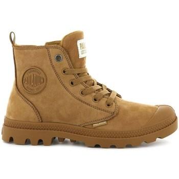 Sapatos Mulher Botas baixas Palladium Boots Pampa HI Zip Castanho