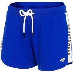 Textil Mulher Shorts / Bermudas 4F SKDD003 Azul