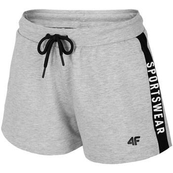 Textil Mulher Shorts / Bermudas 4F SKDD003 Cinzento