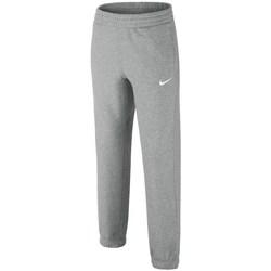 Textil Rapaz Calças de treino Nike Brushedfleece Cuffed Cinzento