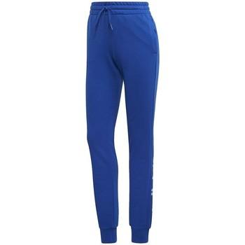 Textil Mulher Calças de treino adidas Originals Essentials Linear Pant Azul