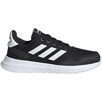 Sapatos Criança Sapatilhas de corrida adidas Originals Archivo K Branco, Preto