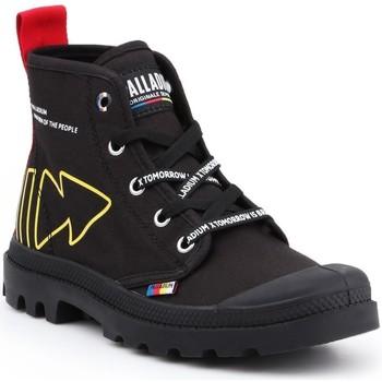 Sapatos Sapatilhas de cano-alto Palladium Manufacture Pampa Dare Rew FWD 76862-008-M black