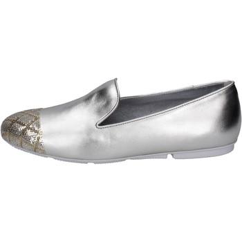 Sapatos Mulher Mocassins Hogan BK669 Prata