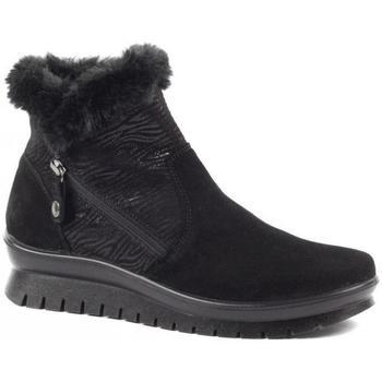 Sapatos Mulher Botas de neve Salamander Kia Booties Black