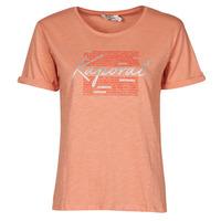 Textil Mulher T-Shirt mangas curtas Kaporal PUZZU Rosa