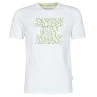 Textil Homem T-Shirt mangas curtas Kaporal DARIN Branco