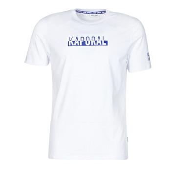 Textil Homem T-Shirt mangas curtas Kaporal DINO Branco