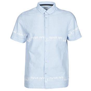 Textil Homem Camisas mangas curtas Kaporal STEVE Azul