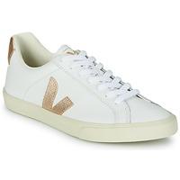 Sapatos Mulher Sapatilhas Veja ESPLAR LOGO Branco / Ouro