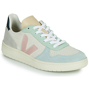 Sapatos Mulher Sapatilhas Veja V-10 Branco / Azul