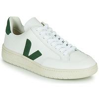 Sapatos Sapatilhas Veja V-12 Branco / Verde