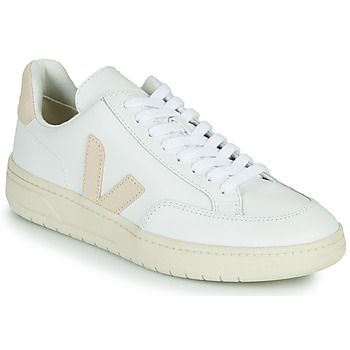 Sapatos Sapatilhas Veja V-12 Branco / Bege